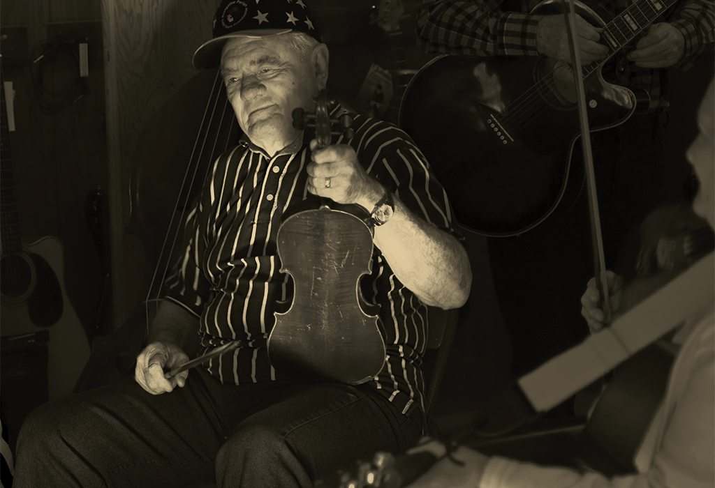 Old Fiddler, Louisiana